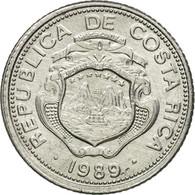 Monnaie, Costa Rica, 25 Centimos, 1989, TTB, Aluminium, KM:188.3 - Costa Rica