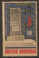 1968 USED STAMP FROM BRITISH HONDURAS  / International Human Rights Year - British Honduras (...-1970)