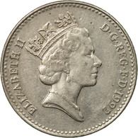 Monnaie, Grande-Bretagne, Elizabeth II, 10 Pence, 1992, TTB, Copper-nickel - 1971-… : Monnaies Décimales