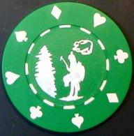 $25 Casino Chip. Majestic Pines, Black River Falls, WI. M86. - Casino
