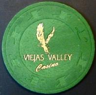 $25 NCV Casino Chip. Viejas, Alpine, CA. Tournament Chip. M86. - Casino
