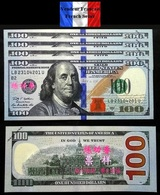 SPECIMEN !!! - Lot De 5 Billets NEUFS De 100 Dollars US - SPECIMEN Echantillons Test Practice Banknotes - Other