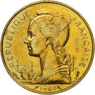 Monnaie, Comoros, 20 Francs, 1964, Paris, ESSAI, SPL, Bronze-Aluminium-Nickel - Comoros