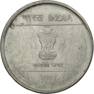 Monnaie, INDIA-REPUBLIC, Rupee, 2007, TB+, Stainless Steel, KM:331 - Inde