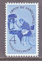 U.S. 1155    **  EMPLOY  THE  HANDICAPPED - Handicaps