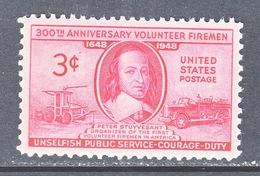 U.S. 971    **  VOLUNTEER  FIREMEN  FIRE  ENGINES - Firemen