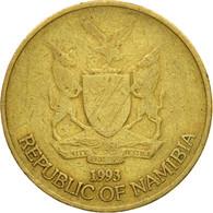 Monnaie, Namibia, Dollar, 1993, Vantaa, TTB, Laiton, KM:4 - Namibie