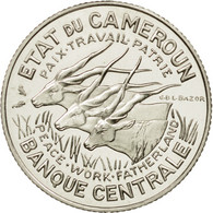 Monnaie, Cameroun, 100 Francs, 1966, Paris, ESSAI, FDC, Nickel, KM:E11 - Cameroon