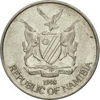 Monnaie, Namibia, 10 Cents, 1998, Vantaa, TTB, Nickel Plated Steel, KM:2 - Namibia