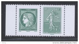 4908 & 4909 Ceres Et Semeuse  Valeur Faciale 2x0,61 € - Frankrijk