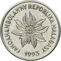 Monnaie, Madagascar, Franc, 1993, Paris, TTB, Stainless Steel, KM:8 - Madagascar