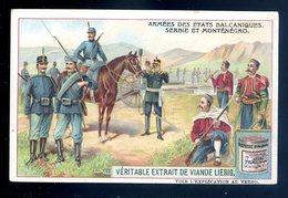 Chromo Liebig Armées Des états Balcaniques Serbie Et Monténégro    Sept18-11 - Liebig