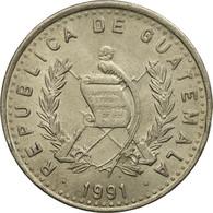 Monnaie, Guatemala, 25 Centavos, 1991, TTB+, Copper-nickel, KM:278.5 - Guatemala