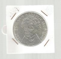 Monnaie, AUTRICHE , Republik OSTERREICH , 100 Schilling , 1976, Johann Nestroy , Argent ,4 Scans, Frais Fr 2.95 E - Autriche
