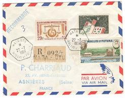 7336 - Recommandée  Pour La France - Covers & Documents