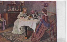 AK 0030  Voss , Carl Legr. - Freundinnen / Künstlerkarte Um 1910-20 - Künstlerkarten