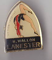 PIN'S THEME   GYMNASTIQUE  CLUB DE LANESTER  EN MORBIHAN - Gymnastics