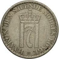 Monnaie, Norvège, Haakon VII, Krone, 1954, TTB, Copper-nickel, KM:397.2 - Norvège