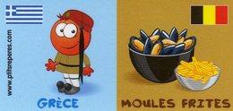 Magnets Magnet Leclerc Reperes Grece Moules Frites - Tourisme
