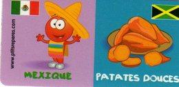 Magnets Magnet Leclerc Reperes Mexique Patates Douces - Tourisme