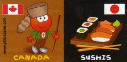 Magnets Magnet Leclerc Reperes Canada Sushis - Tourisme