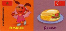 Magnets Magnet Leclerc Reperes Maroc Kebab - Tourisme