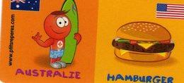 Magnets Magnet Leclerc Reperes Australie Hamburger - Tourisme