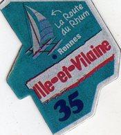 Magnets Magnet Le Gaulois Departement France 35 Ile Et Vilaine - Tourism