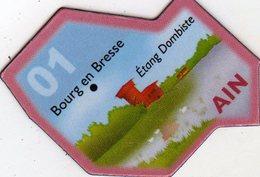 Magnets Magnet Le Gaulois Departement France 01 Ain - Tourisme