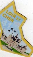Magnets Magnet Le Gaulois Departement France 41 Loir Et Cher - Tourism