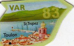 Magnets Magnet Le Gaulois Departement France 83 Var - Tourisme