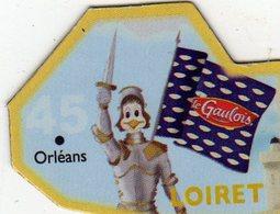 Magnets Magnet Le Gaulois Departement France 45 Loiret - Tourisme