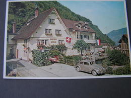 CH Mühlenhorn , Glarus .. VW - Käfer Gasthof Karte - GL Glarus