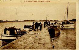 22 Départ Des Vedettes Pour L'île De Bréhat, à La Pointe De L'ARCOUEST (hameau De PLOUBAZLANEC) - Très Animée - Ploubazlanec