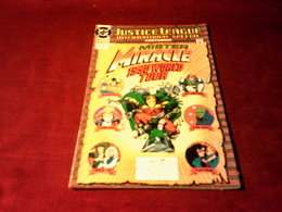 JUSTICE  LEAGUE  INTERNATIONAL  SPECIAL MISTER MIRACLE 1990 WORLD TOUR   No 1 1990 - DC