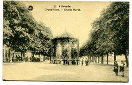 CPA - Carte Postale - Belgique - Vilvorde - Grand Place - 1922 ( SV5464 ) - Vilvoorde