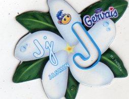 Magnets Magnet Alphabet Gervais Jasmin J - Lettres & Chiffres