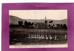 88 SAINT ETIENNE LES REMIREMONT Le Champ De Manoeuvres  Eglise MILITARIA - Saint Etienne De Remiremont