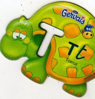 Magnets Magnet Alphabet Gervais Tortue T - Lettres & Chiffres