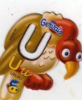 Magnets Magnet Alphabet Gervais Urubu U - Letras & Cifras