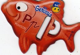 Magnets Magnet Alphabet Gervais Poisson P - Lettres & Chiffres