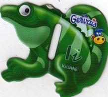 Magnets Magnet Alphabet Gervais Iguane I - Lettres & Chiffres