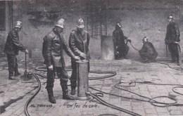 SAPEURS - POMPIERS . Un Feu De Cave - Sapeurs-Pompiers