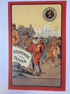 BELGIUM - Ostende - Oostende Dover Publicity Card - Etat Belge Ch. De Fer & Paquebots - Unused - Oostende