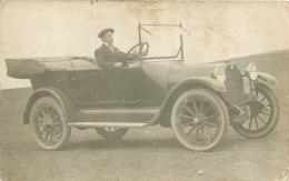 LOPEZ LECUBE AOUT 1917 CARTE PHOTO VIEILLE AUTOMOBILE VOIR LES 2 SCANS - Argentine