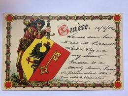 SWITZERLAND - Geneva - 1902 - Kunzli - GE Geneva