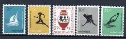 Pays Bas / Série N 654 à 658 / NEUFS ** - 1949-1980 (Juliana)