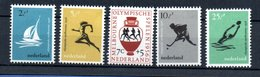 Pays Bas / Série N 654 à 658 / NEUFS ** - Period 1949-1980 (Juliana)