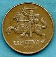 T10/  LITUANIE  50 Centu  1997 - Lithuania