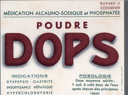 Buvard POUDRE DOPS  (PPP14982) - Chemist's
